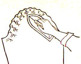 как вшить рукава11