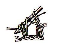 вязать п-столбики с вытянутыми петлями