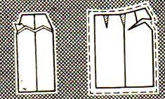 Как построить выкройку юбку для школы
