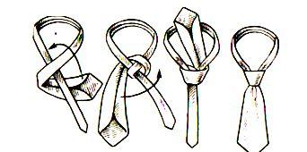 Как завязать галстук просто пошагово