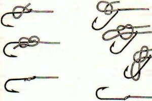 как науч вязать рыбацкие узлы простой и накидной