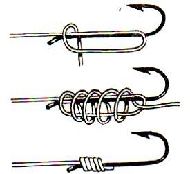 как науч вязать рыбацкие узлы с внутр пропуском конца