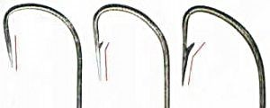 крючки-бородка