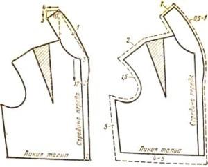Выкройка пиджака-воротник шалька фото 777