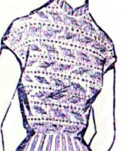 кофточка спицами
