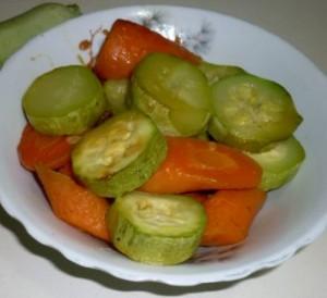 что приготовить из кабачков с морковью 1