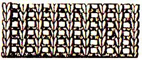 виды вязок на спиц простая резинка