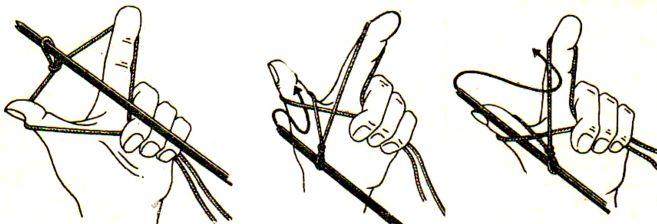 как вязать спицами3