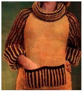 замена свитер с капюшоном