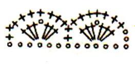 перчатки крючк схема обвязки