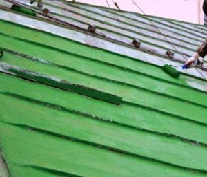 ремонт крыша металич