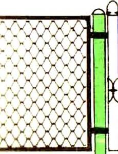забор из сетки 1