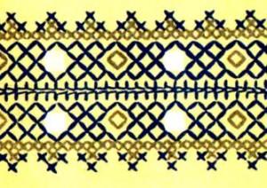 перевод вышивки на ткань2