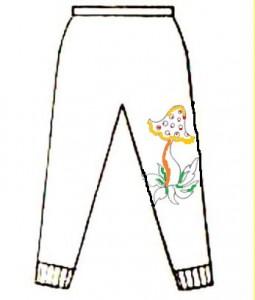 детские штаниш перв