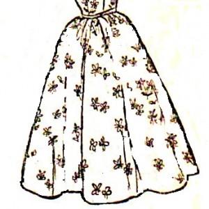 юбка полусолнцее