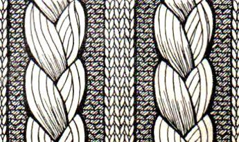 вязание на спицах коса и жгуты шестьсот советов