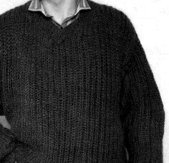 мужской свитер английской резинкой 50 52 размера шестьсот советов