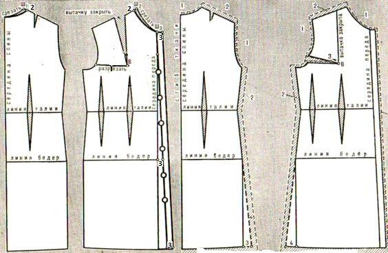 Как сшить халат на пуговицах своими руками для начинающих выкройки 31