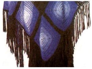 бахрома из ниток для шали