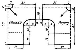 кофточка крючком от горловины на лето (2)