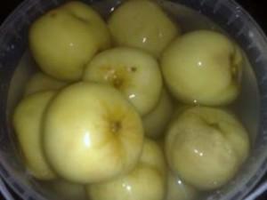 яблоки моченые