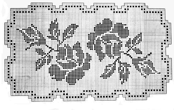 филейная схема2 розы