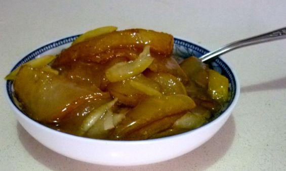 варенье из груш лимон