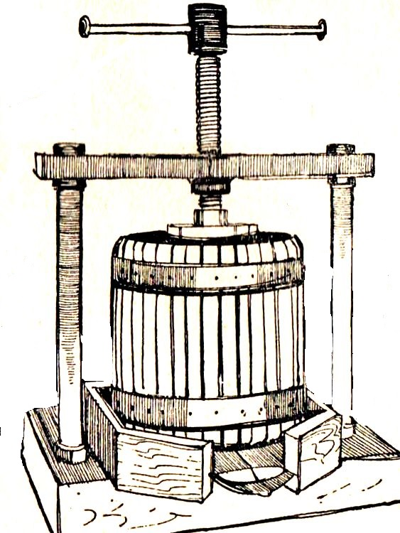 как сделать пресс для сока из яблок (1)