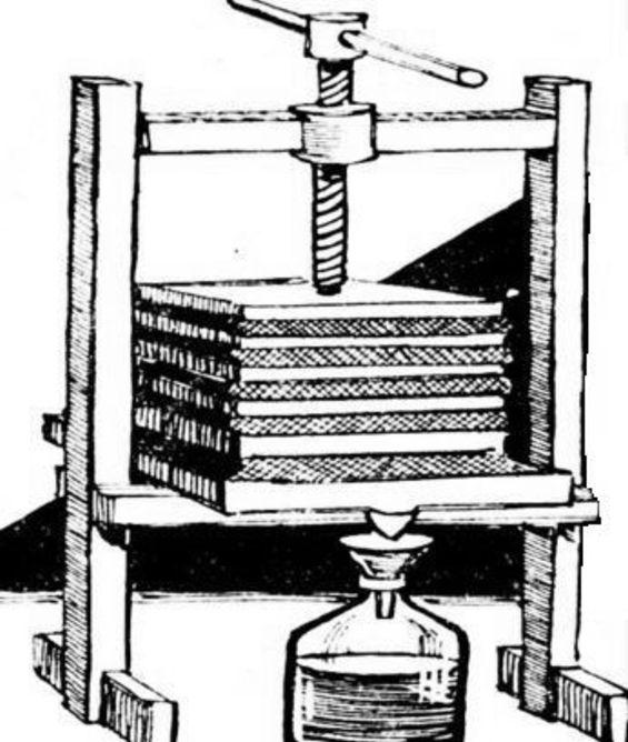как сделать пресс для сока из яблок (2)