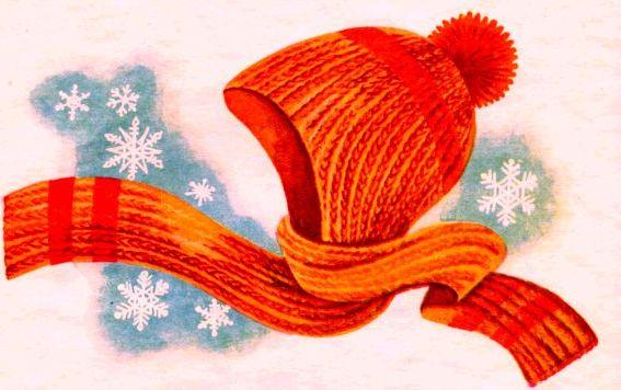 5 шапка-шарф-спицами