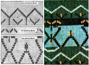 6 схемы вышивок для вязаных изделий1
