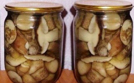 Маринован грибы